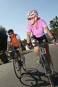 Couple-Riding-Road-Bikes