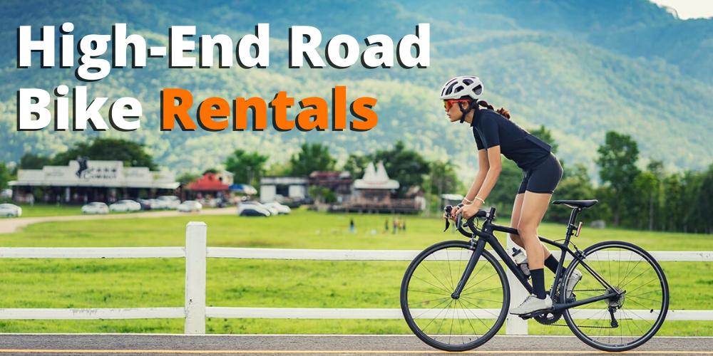 high-end road bike rentals